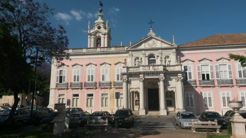 Παλάτι Necessidades στοκ εικόνες