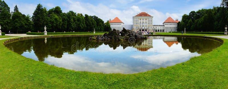 Παλάτι Nymphenburg, Μόναχο στοκ φωτογραφία