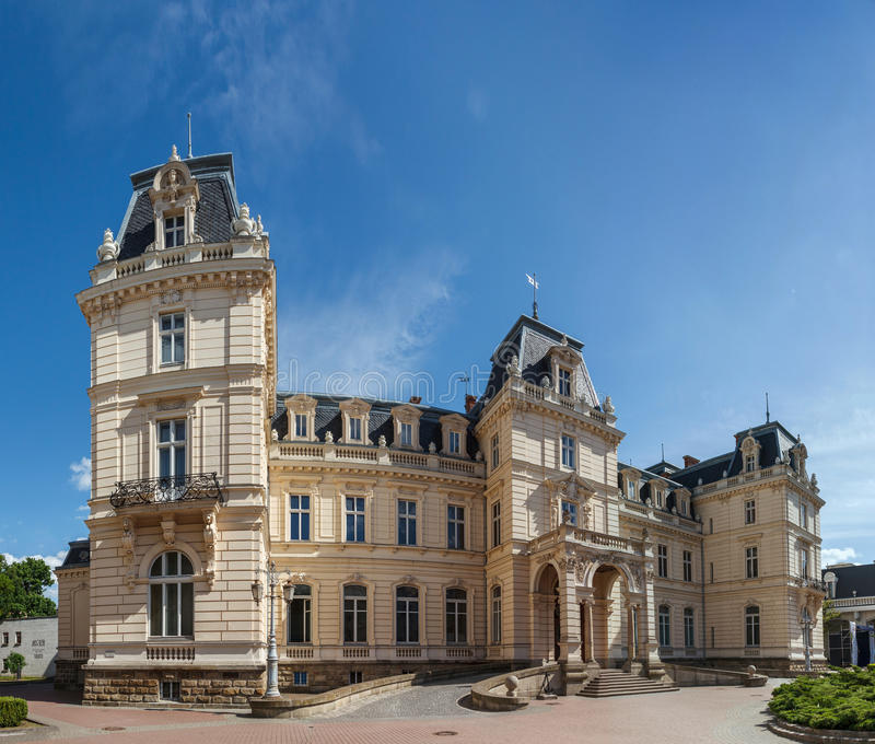 Παλάτι Potocki στοκ εικόνες