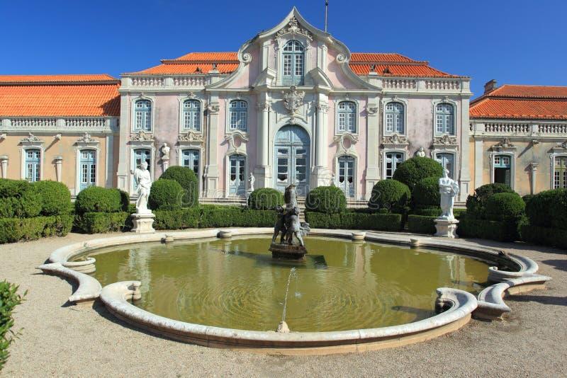 Παλάτι Queluz στοκ εικόνες με δικαίωμα ελεύθερης χρήσης