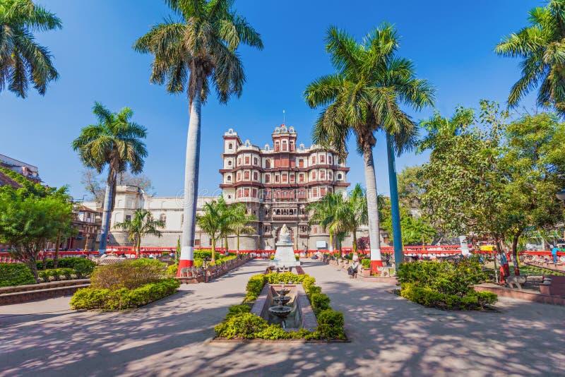 Παλάτι Rajwada, Indore στοκ εικόνες