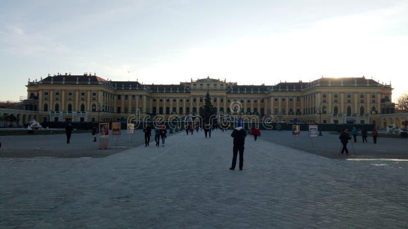 παλάτι schonbrunn Βιέννη στοκ εικόνα με δικαίωμα ελεύθερης χρήσης