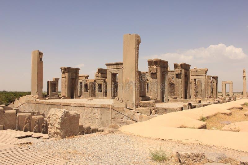 Παλάτι Tachara σε Persepolis (Ιράν) στοκ εικόνες