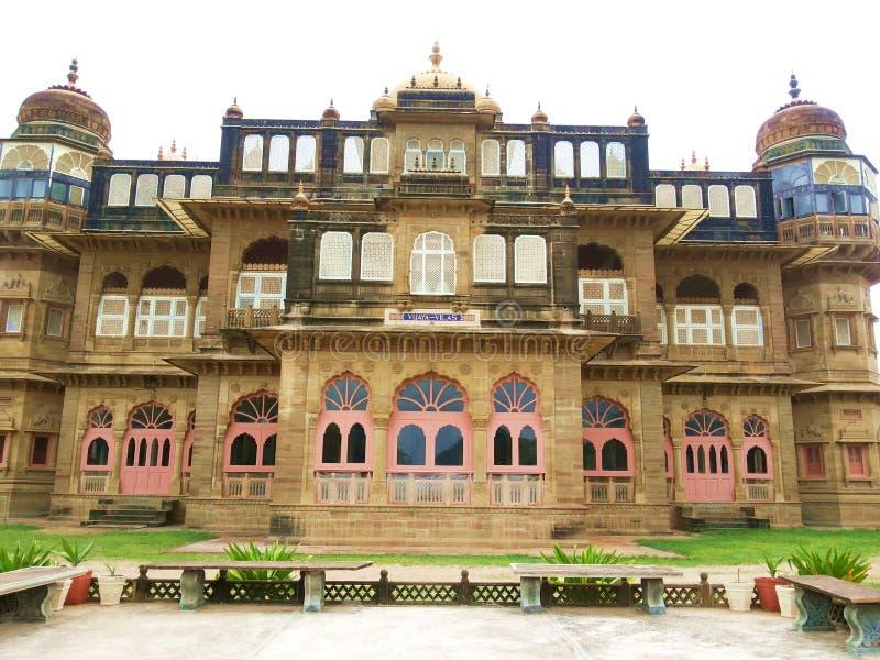 Παλάτι Vilas Vijay - Kutch, Gujarat, Ινδία στοκ φωτογραφία