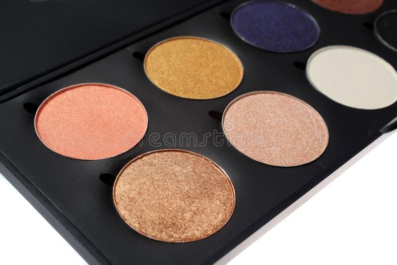 Παλέτα Makeup στοκ εικόνες