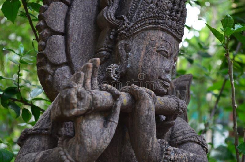 Παλαιά αγάλματα του ναού στοκ εικόνες
