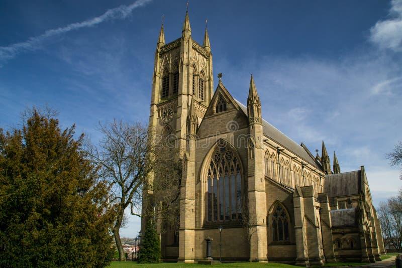Παλαιά αγγλική εκκλησία. στοκ εικόνα με δικαίωμα ελεύθερης χρήσης