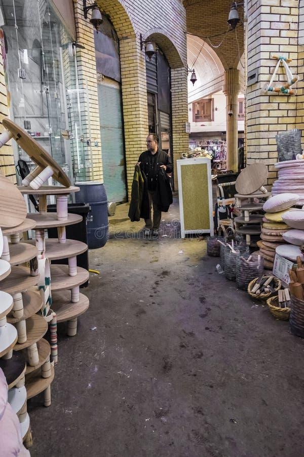 Παλαιά αγορά στην πόλη Erbil, Ιράκ στοκ εικόνα