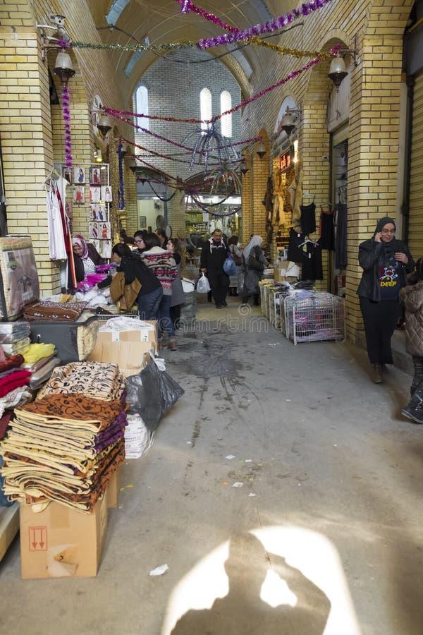 Παλαιά αγορά στην πόλη Erbil, Ιράκ στοκ φωτογραφίες με δικαίωμα ελεύθερης χρήσης