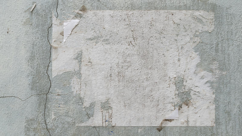 παλαιά αφίσα στοκ εικόνα με δικαίωμα ελεύθερης χρήσης