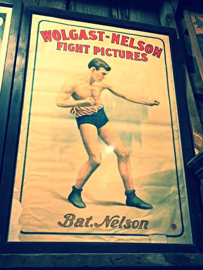παλαιά αφίσα στοκ εικόνες με δικαίωμα ελεύθερης χρήσης