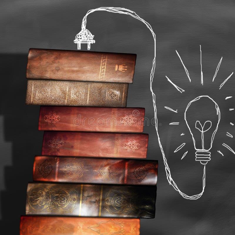 Παλαιά βιβλία, βιβλιοθήκη στοκ εικόνες με δικαίωμα ελεύθερης χρήσης
