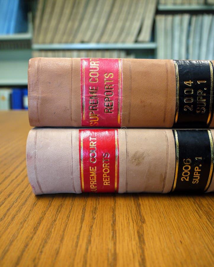 Παλαιά βιβλία νόμου στοκ εικόνα