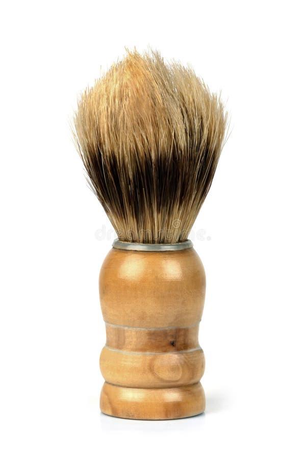 Παλαιά βούρτσα ξυρίσματος  στοκ φωτογραφίες