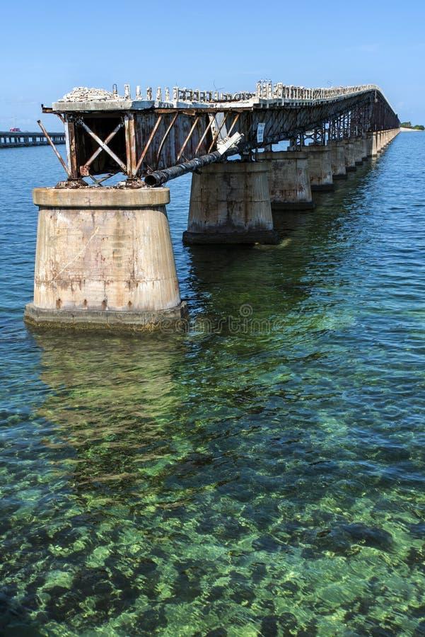 Παλαιά γέφυρα της Key West στοκ φωτογραφία με δικαίωμα ελεύθερης χρήσης