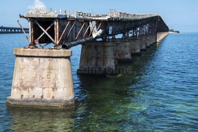 Παλαιά γέφυρα της Key West στοκ εικόνες με δικαίωμα ελεύθερης χρήσης