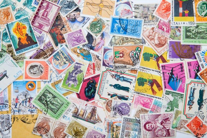 Παλαιά γραμματόσημα στοκ εικόνες με δικαίωμα ελεύθερης χρήσης