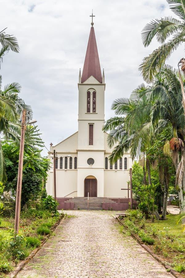 Παλαιά εκκλησία Arroio do Meio στοκ εικόνες