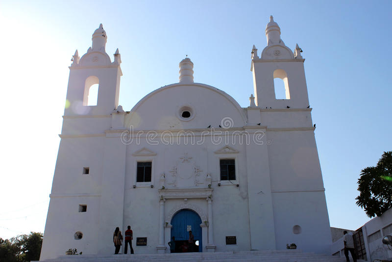 Παλαιά εκκλησία Portugali στοκ εικόνες