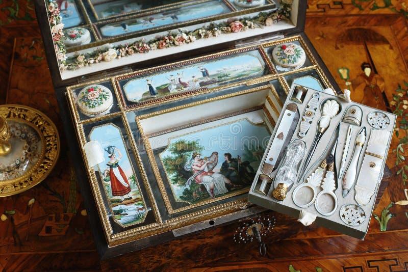 Παλαιά εξάρτηση ξυρίσματος στο παλάτι Tsarskoye Selo Pushkin στοκ φωτογραφία με δικαίωμα ελεύθερης χρήσης