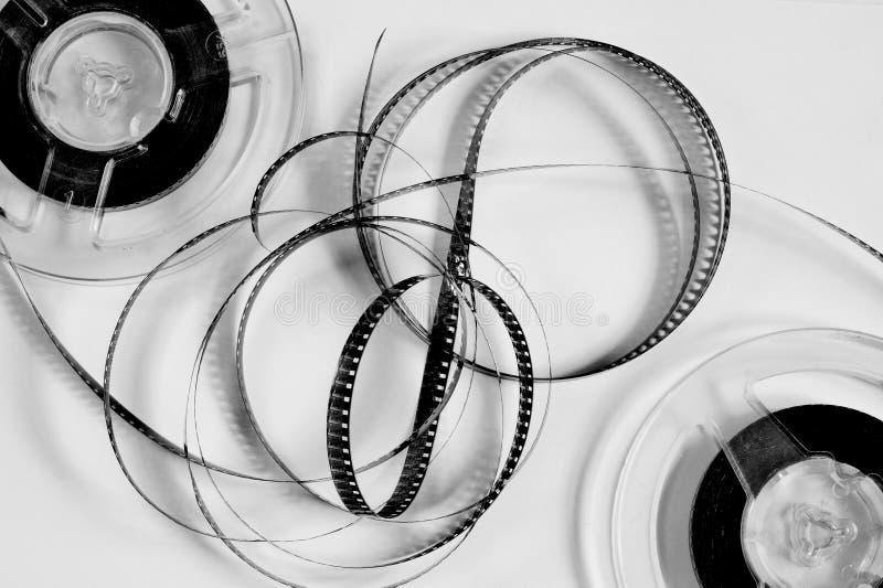 Παλαιά εξέλικτρα με τη γραπτή ταινία στοκ φωτογραφίες με δικαίωμα ελεύθερης χρήσης