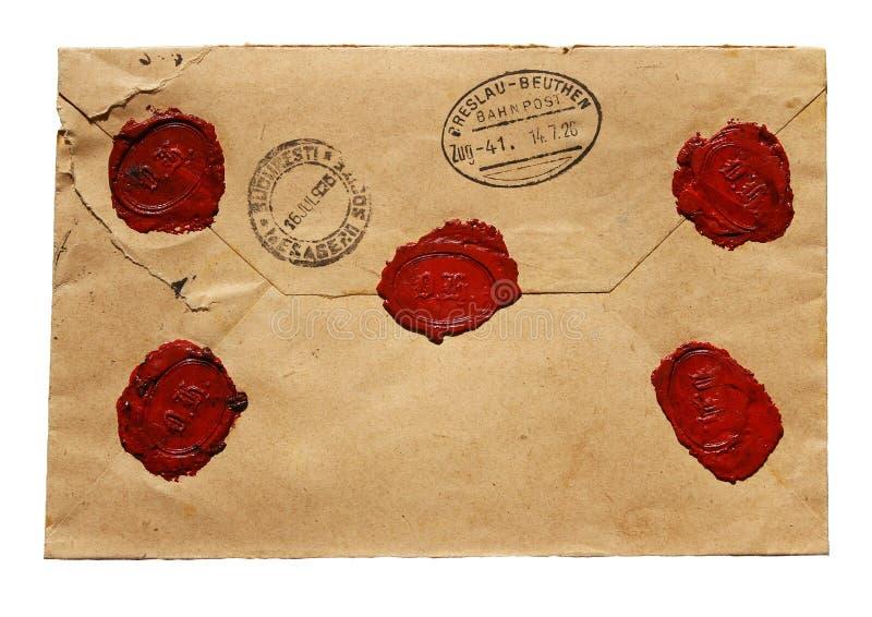 Παλαιά επιστολή στοκ φωτογραφία με δικαίωμα ελεύθερης χρήσης