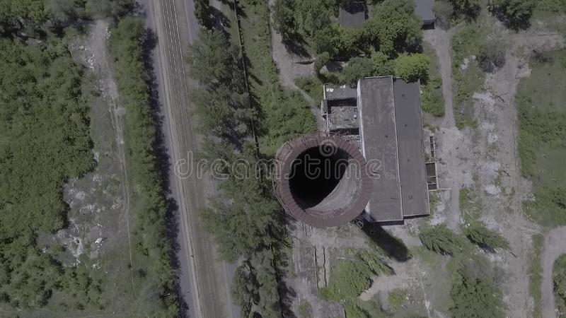 Παλαιά εργοστάσια απόθεμα βίντεο