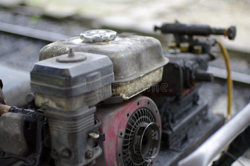 Παλαιά ελαιούχος μηχανή στοκ εικόνες με δικαίωμα ελεύθερης χρήσης