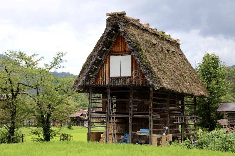 Παλαιά Ιαπωνία στοκ εικόνα με δικαίωμα ελεύθερης χρήσης