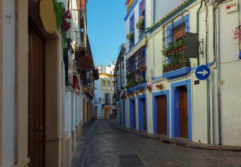 παλαιά Ισπανία πόλη οδών της Κόρδοβα στοκ φωτογραφίες με δικαίωμα ελεύθερης χρήσης