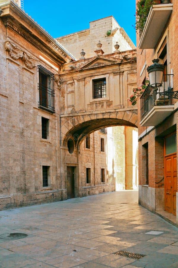 παλαιά ισπανική πόλη οδών στοκ φωτογραφίες με δικαίωμα ελεύθερης χρήσης