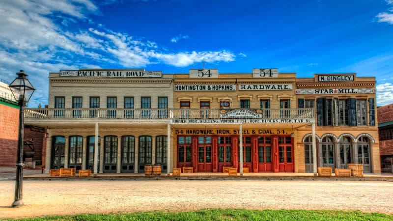 Παλαιά ιστορικά κτήρια του Σακραμέντο στοκ φωτογραφία με δικαίωμα ελεύθερης χρήσης