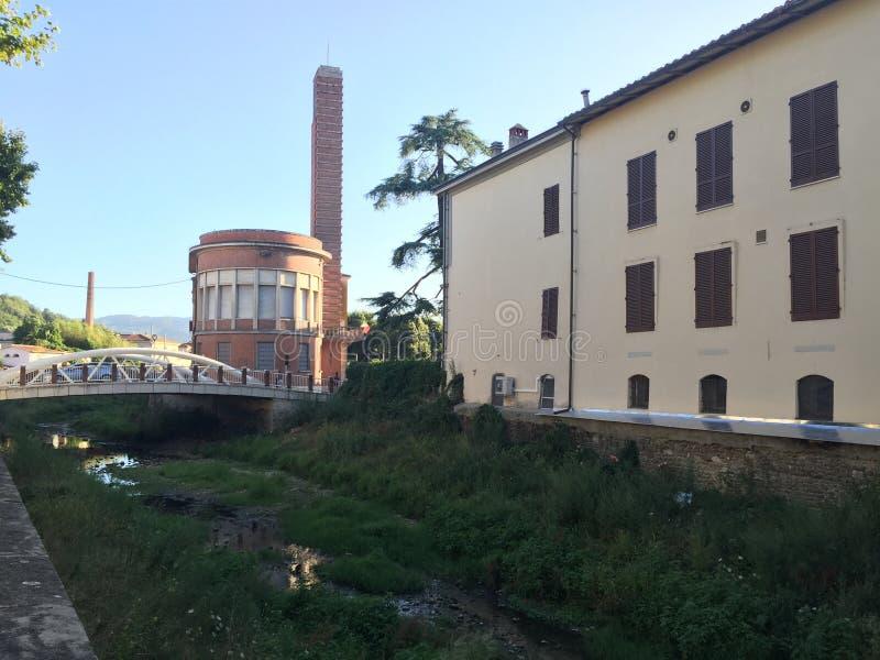 Παλαιά ιταλική φασιστική αρχιτεκτονική στοκ εικόνες με δικαίωμα ελεύθερης χρήσης