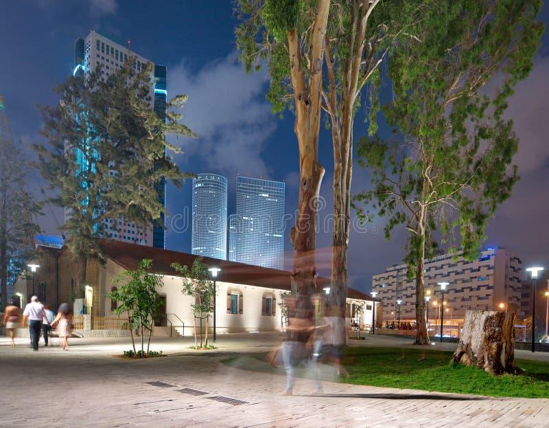 Παλαιά και νέα αρχιτεκτονική στο Τελ Αβίβ στοκ εικόνες με δικαίωμα ελεύθερης χρήσης