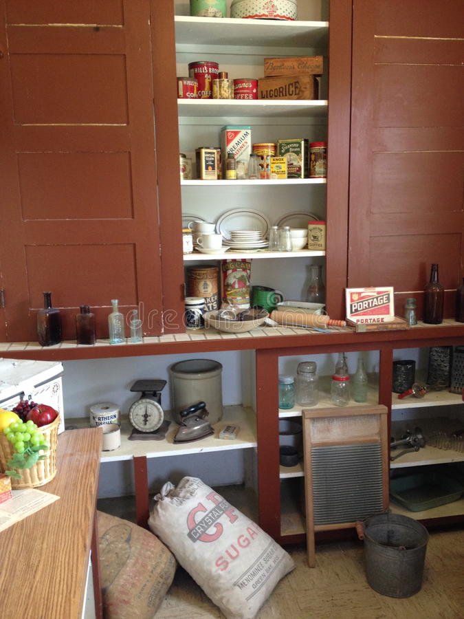 Παλαιά κουζίνα χρονικής διαβίωσης στοκ εικόνες με δικαίωμα ελεύθερης χρήσης