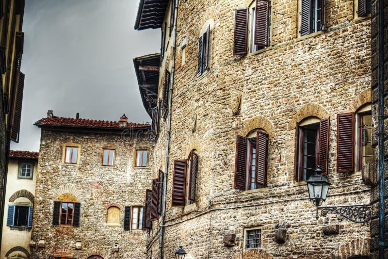 Παλαιά κτήρια στη Φλωρεντία στοκ φωτογραφία με δικαίωμα ελεύθερης χρήσης