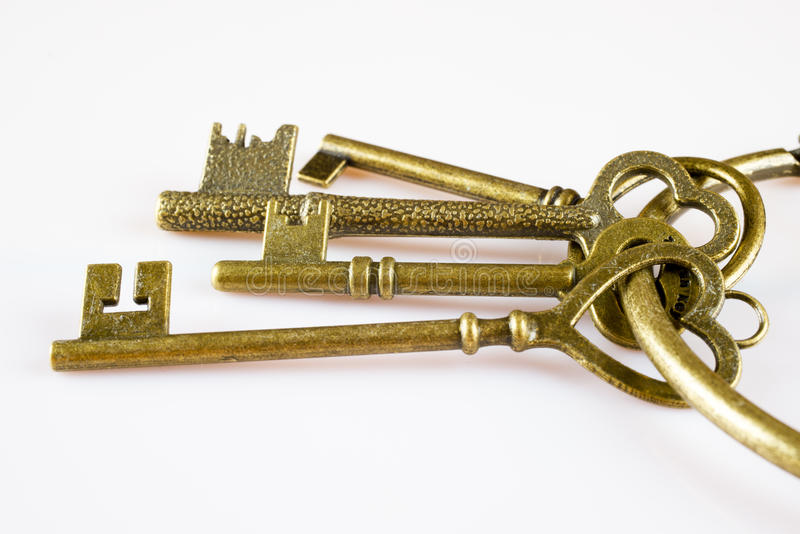 Παλαιά κλειδιά στοκ φωτογραφία με δικαίωμα ελεύθερης χρήσης