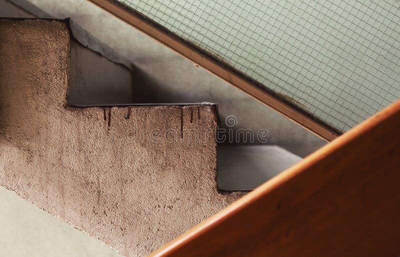 Παλαιά κλιμακοστάσια οικοδόμησης στοκ εικόνα με δικαίωμα ελεύθερης χρήσης