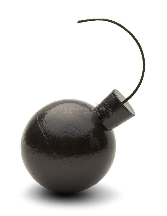 Παλαιά μαύρη βόμβα στοκ εικόνες με δικαίωμα ελεύθερης χρήσης