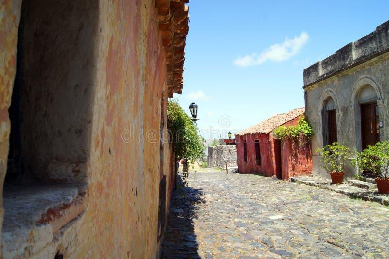 Παλαιά οδός της Ουρουγουάης στοκ φωτογραφίες