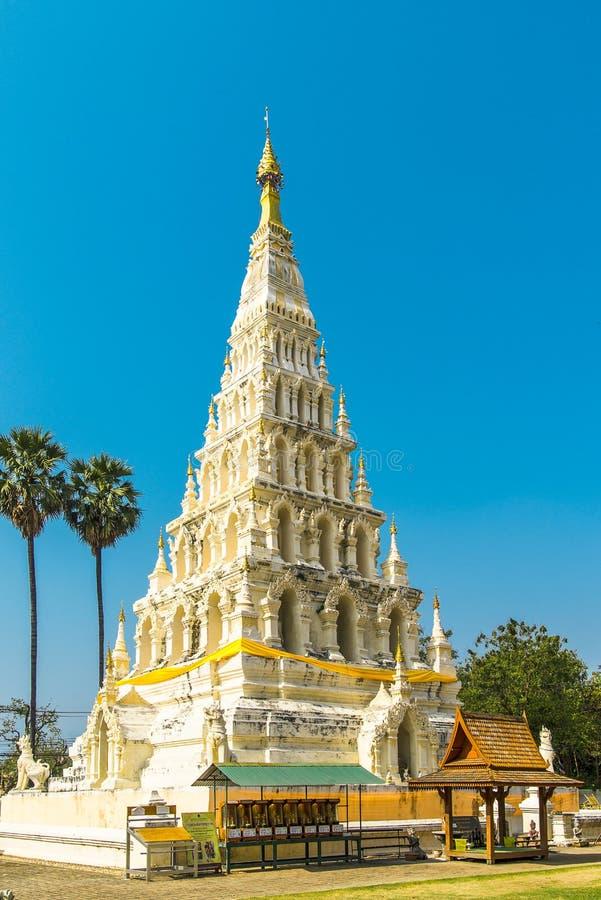 Παλαιά παγόδα σε Wat Chedi Liam σε Wiang Kum Kam, Chiang Mai στοκ φωτογραφίες με δικαίωμα ελεύθερης χρήσης
