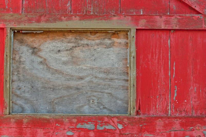 Παλαιά πόρτα και σπασμένο παράθυρο στοκ φωτογραφία