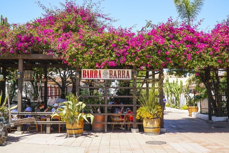 Παλαιά πόλης αίθουσα Barra στο Σαν Ντιέγκο - το ΣΑΝ ΝΤΙΈΓΚΟ - ΚΑΛΙΦΟΡΝΙΑ - 21 Απριλίου 2017 στοκ φωτογραφίες με δικαίωμα ελεύθερης χρήσης