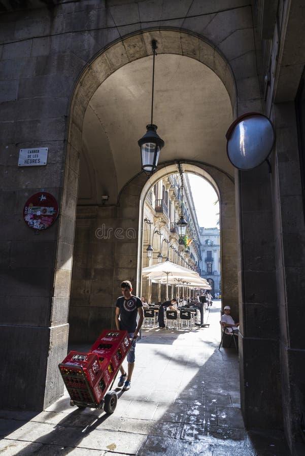 Παλαιά πόλη, Βαρκελώνη στοκ εικόνες