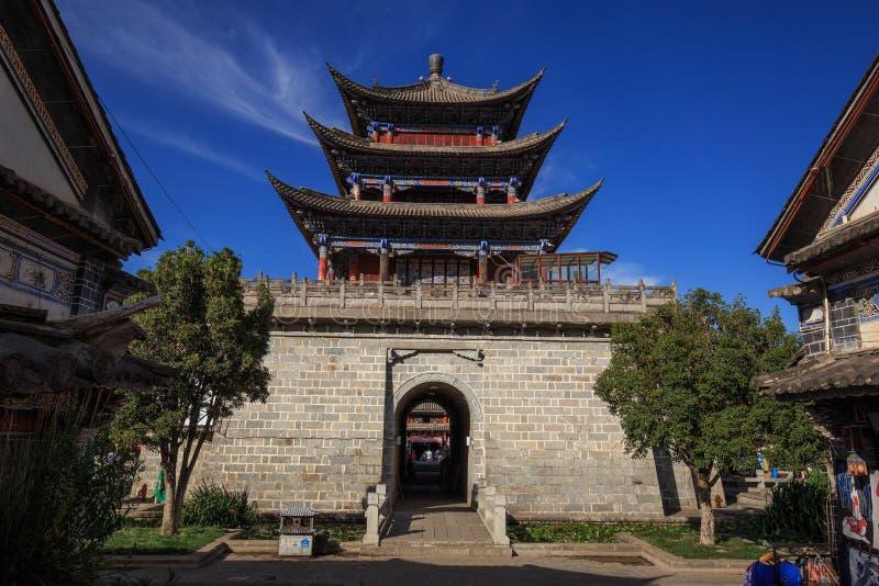 Παλαιά πόλη κωμοπόλεων του Δαλιού, στην επαρχία Yunnan της Κίνας στοκ εικόνα