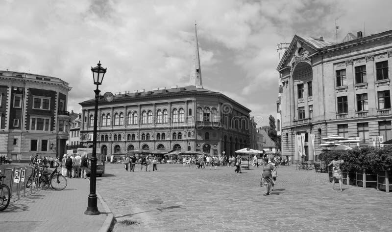 Παλαιά πόλη Ρήγα στοκ εικόνες