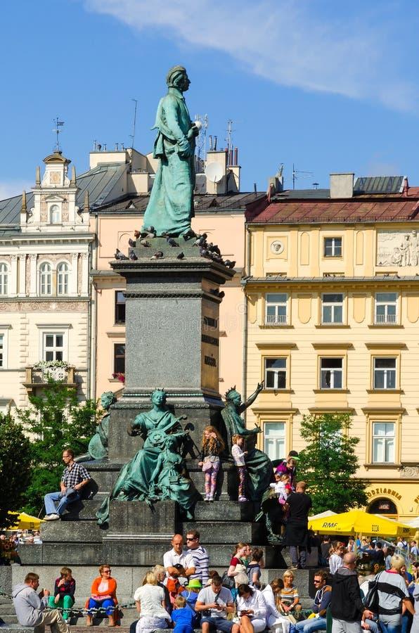 Παλαιά πόλη στην Κρακοβία, Πολωνία στοκ εικόνες