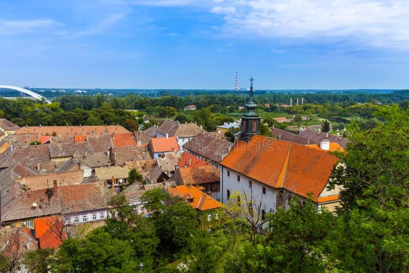 Παλαιά πόλη στο Νόβι Σαντ - τη Σερβία στοκ φωτογραφία με δικαίωμα ελεύθερης χρήσης
