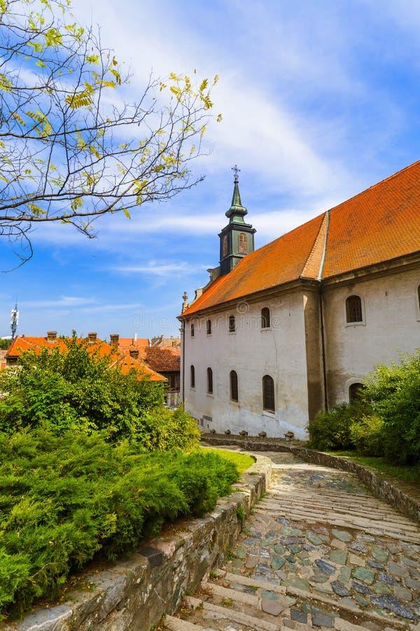 Παλαιά πόλη στο Νόβι Σαντ - τη Σερβία στοκ εικόνες με δικαίωμα ελεύθερης χρήσης
