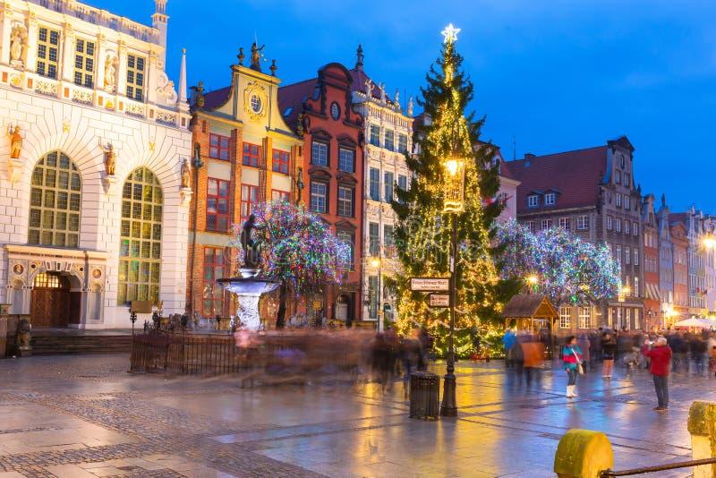 Παλαιά πόλη της αρχιτεκτονικής του Γντανσκ στοκ φωτογραφία με δικαίωμα ελεύθερης χρήσης